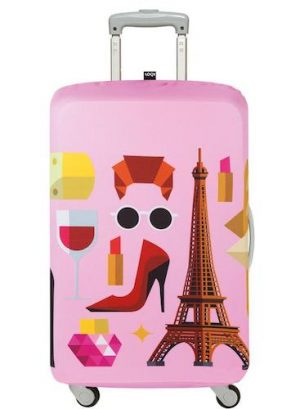 Hey Paris Luggage Cover
