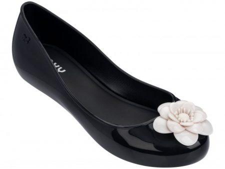 Zaxy Black Pop Charm Shoes
