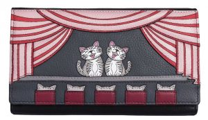 Cats The Meowsical Leather Purse