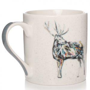 Stag Mugs - Set of 4