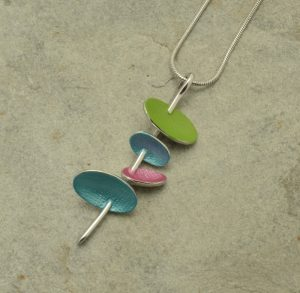 Multicolour Satellite Necklace