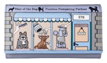Beaus Pampering Parlour Leather Purse