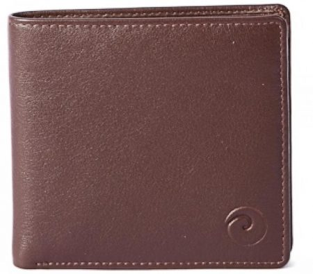 Basic Wallet with RFID - Brown