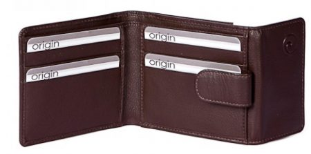 Tab Wallet with Tray Pocket and RFID