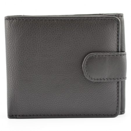 Tab Wallet with Tray Pocket and RFID - Black