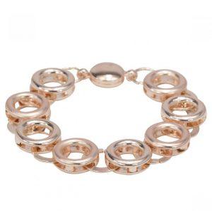 Geometric Magnetic Bracelet - Rose Gold