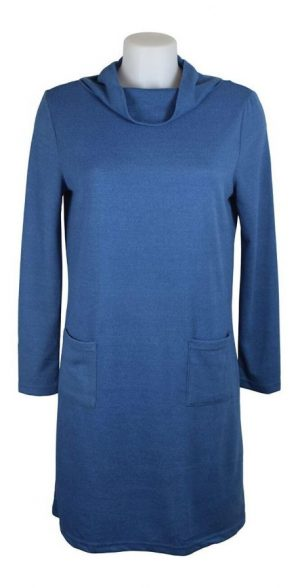 Alice Collins Gracie Tunic Dress - Indigo