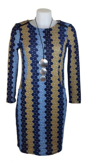 Alice Collins Julia Tunic Dress - Blue