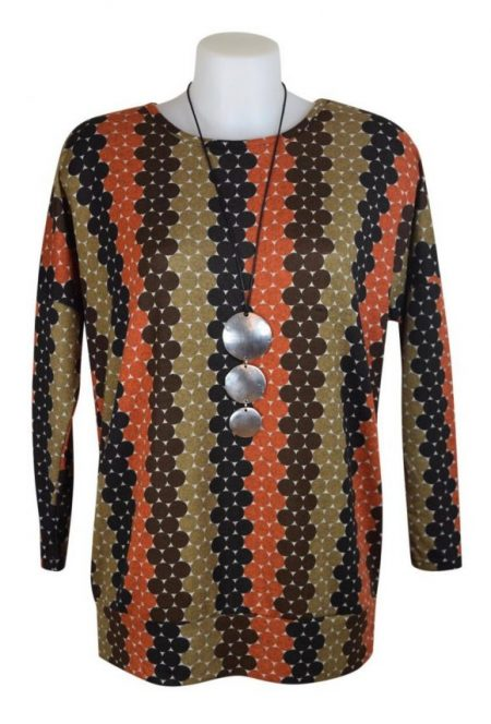 Alice Collins Whitney Top - Brown