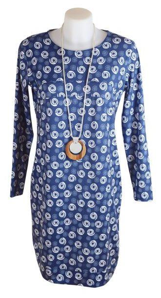 Alice Collins Flora Tunic Dress - Swirl Dot