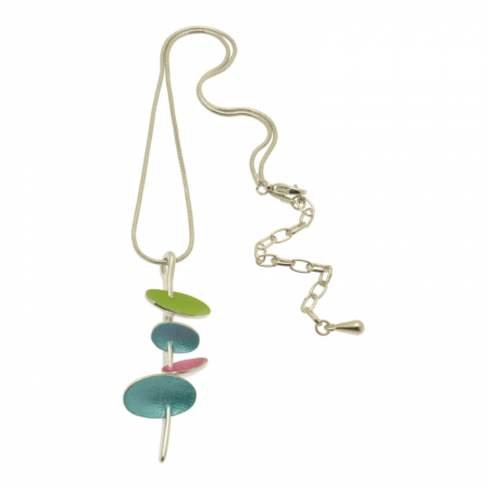 Multicolour Satellite Necklace