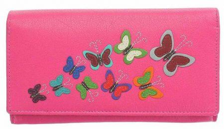 Harper Butterfly Leather Purse