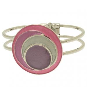 Purple Circles Bracelet