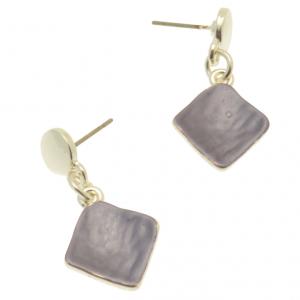 Dark Purple Earrings