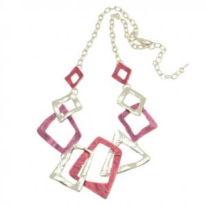 Pink & Purple Necklace