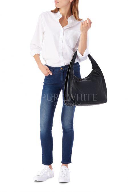 Leather Shoulder Bag 1