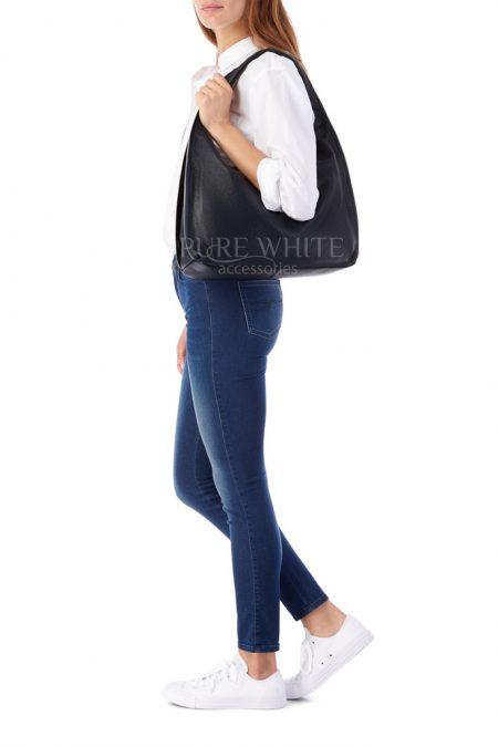 Leather Shoulder Bag 4