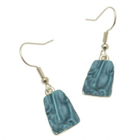 Blue Stalacite Earrings