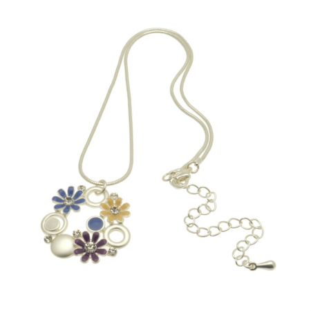Multicolour Daisy Necklace