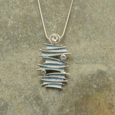 Grey Layer Necklace