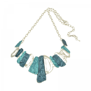 Blue Stalacite Necklace