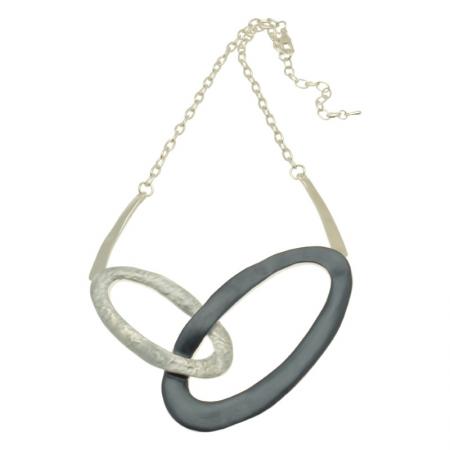 Blue Loop Necklace