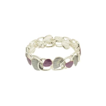 Purple Triangle Bracelet