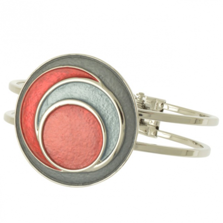 Red Circles Bracelet