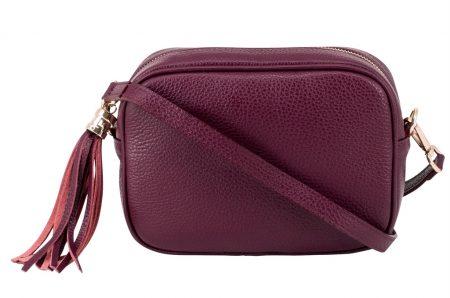 Box Bag - Red Plum