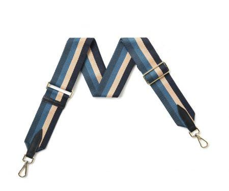 Strap - Blue Cream Stripe
