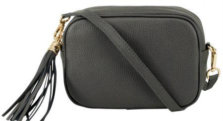 Italian Leather Box Bag
