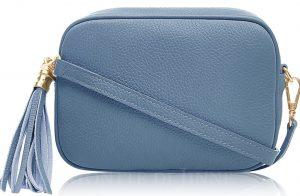 PS233 Italian Leather Box Bag
